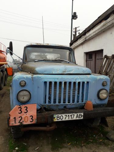 Автоцистерна ГАЗ 52