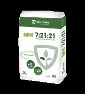 NPK 7:21:21 + 4%S + 0,05%Zn