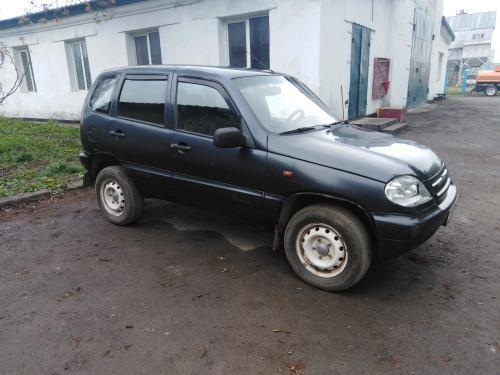 Автомобиль ВАЗ-2123, Chevrolet Niva