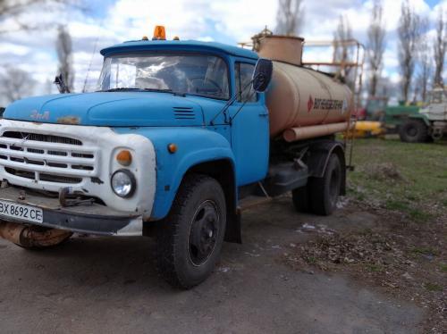 Автомобиль бензовоз ЗИЛ-431411