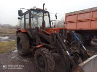 Трактор МТЗ-82 + Борекс