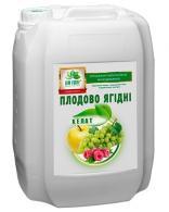 Плодово-ягодные микроудобрения 10 л, Лист Форте